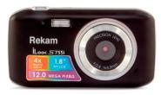 Rekam iLook S755i черный 12Mpix 1.8